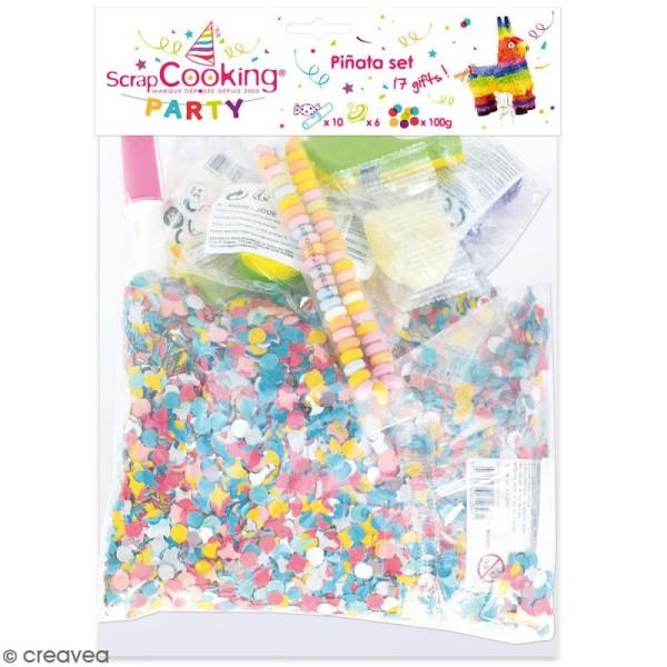 Kit jouets et bonbons pour piñata - 17 pcs - Photo n°1