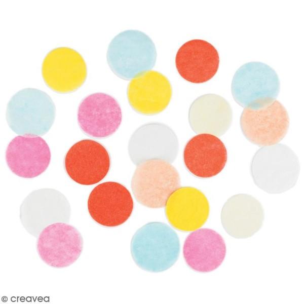 Confettis multicolores - 20 g - Photo n°2