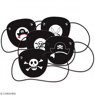Cache oeils Pirate - 5 pcs