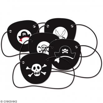 Cache oeils Pirate - 5 pcs