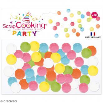 Boules de sarbacanes pastels - 80 pcs