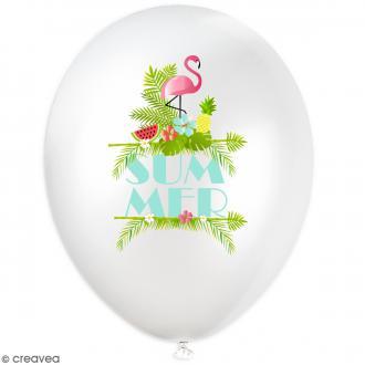 Ballons de baudruche summer - 25 cm - 6 pcs