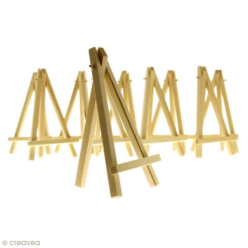 Mini chevalets 16 x 9 cm - 10 pcs - Photo n°1