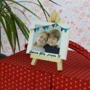 Mini chevalet avec toile de 9 x 7 cm - 1 pce - Photo n°5