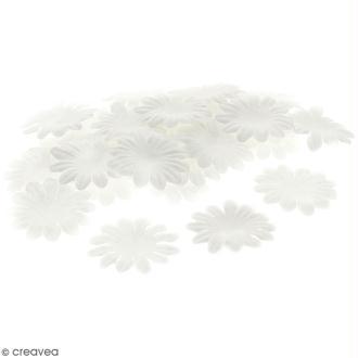 Fleurs en papier - Marguerites Blanches - 5 cm - 100 pcs