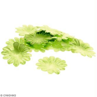 Fleurs en papier - Marguerites Vertes  - 4 cm - 25 pcs