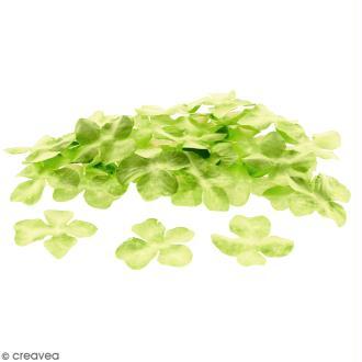 Fleurs en papier - Hortensia Vertes  - 3,2 cm - 50 pcs