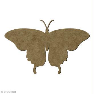 Papillon en bois - 15 x 9,5 cm