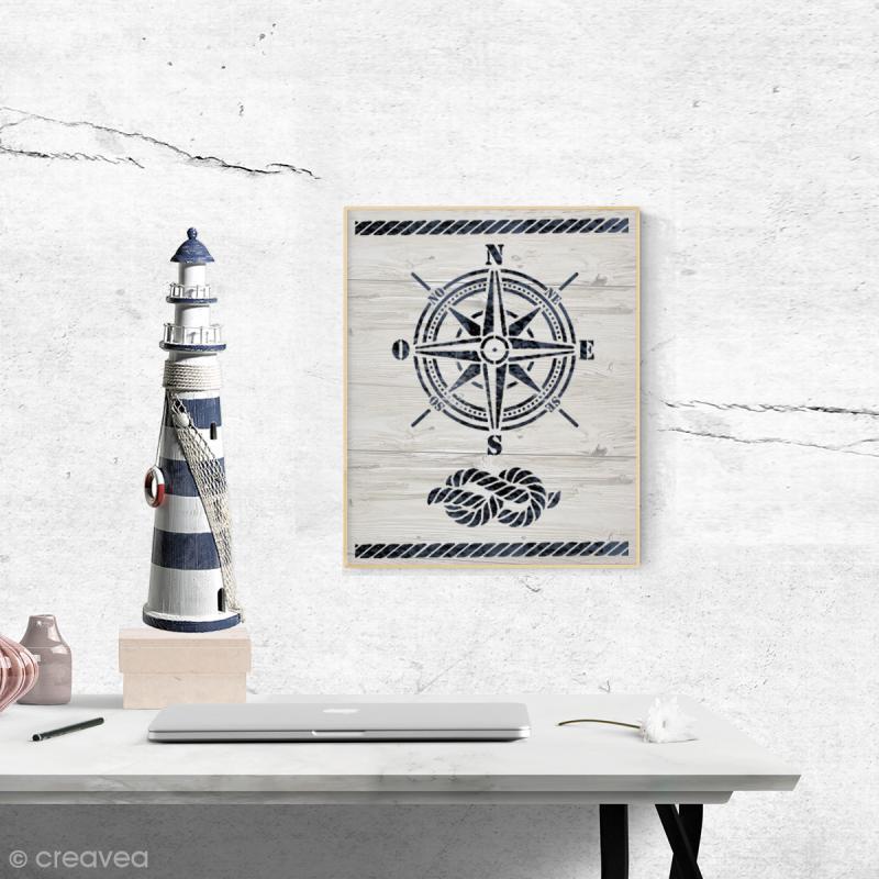 Pochoir multiusage - Long Island - A4 (21 x 29,7 cm) - Photo n°2