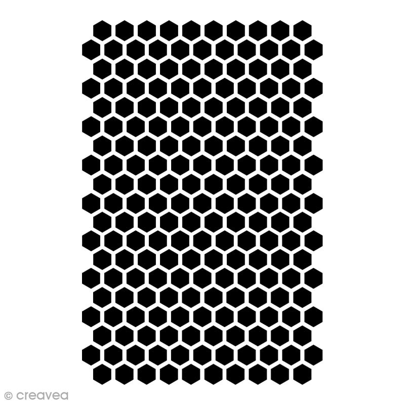 Pochoir multiusage - Ruche - 29,7 x 21 cm (A4) - Photo n°1