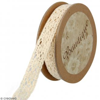 Dentelle beige Celebrate - 15 mm x 5 m