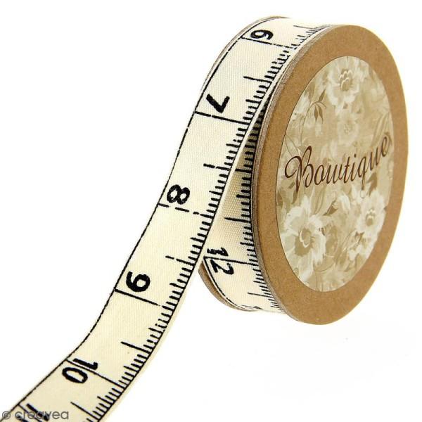 Ruban coton Celebrate - Mètre ruban - 15 mm x 5 m - Photo n°1