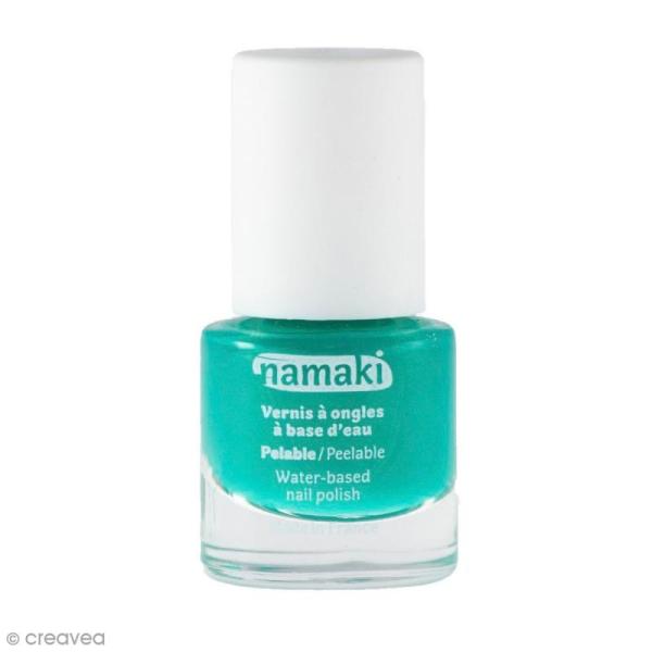 Vernis à ongles pour enfants - Bleu Caraïbes n° 10 - 7,5 ml - Photo n°1