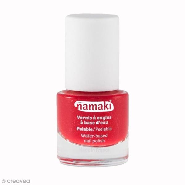 Vernis à ongles pour enfants - Rouge griotte n° 11 - 7,5 ml - Photo n°1