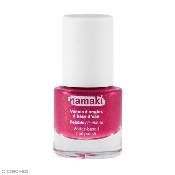 Vernis à ongles pour enfants - Rose fuchsia n° 12 - 7,5 ml - Photo n°1