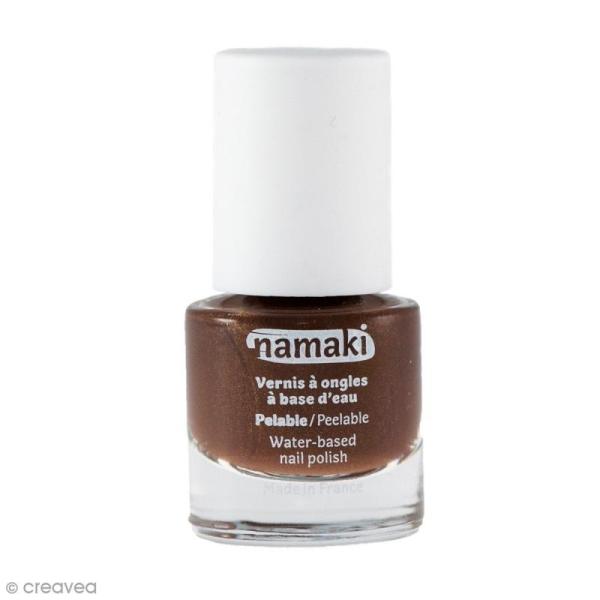 Vernis à ongles pour enfants - Marron bronze n° 14 - 7,5 ml - Photo n°1