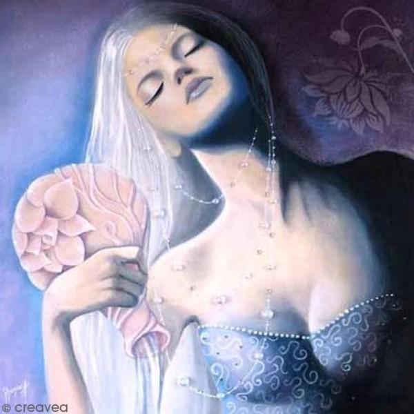 Image 3D - Femme Verseau - 30 x 30 cm - Photo n°1