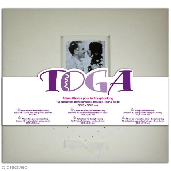 Album photos - Mariage ivoire - 30 x 30 cm - Photo n°1