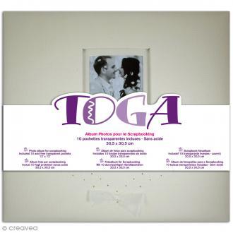 Album photos - Mariage ivoire - 30 x 30 cm