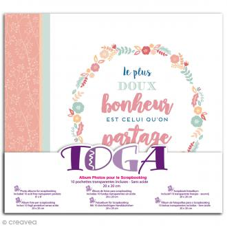 Album photos - Bonheur - 20 x 20 cm