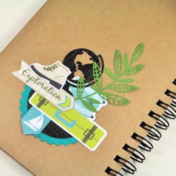 Stickers 3D epoxy - Escapade - 39 pcs - Photo n°4