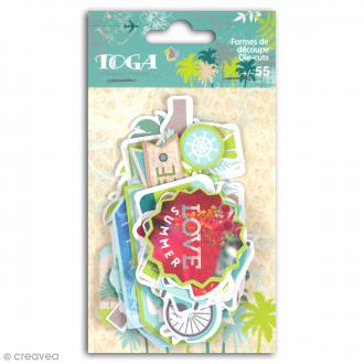 Die cut Toga - Escapade - 55 pcs