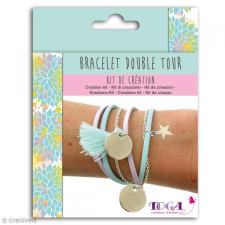 kit de cr ation de bracelet toga cara bes kit bijoux adulte creavea. Black Bedroom Furniture Sets. Home Design Ideas