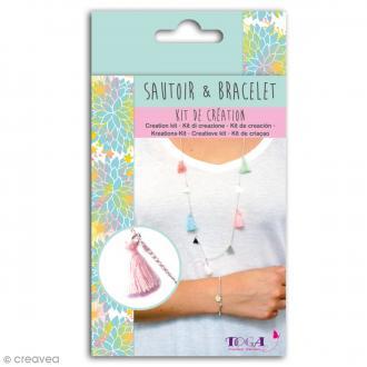 Kit de création Sautoir et Bracelet Toga - Caraïbes