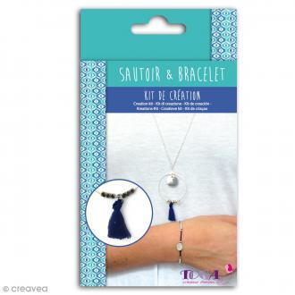 Kit de création Sautoir et Bracelet Toga - Cyclades