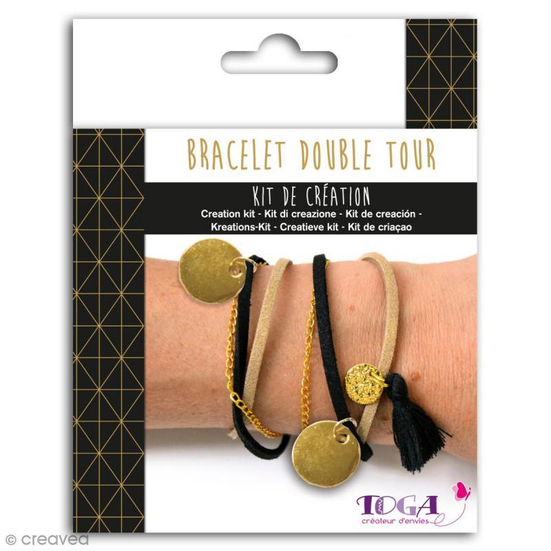 Kit de création de Bracelet Toga - Doré chic - Photo n°1