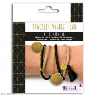 Kit de création de Bracelet Toga - Doré chic