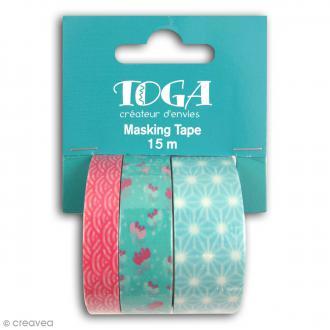 Masking tape Toga - Jardin japonais - 3 rouleaux