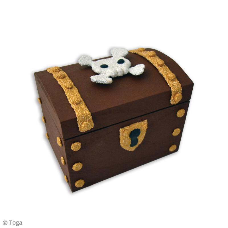 Kit de pâte à modeler Padaboo - Tirelire Pirate - Photo n°2