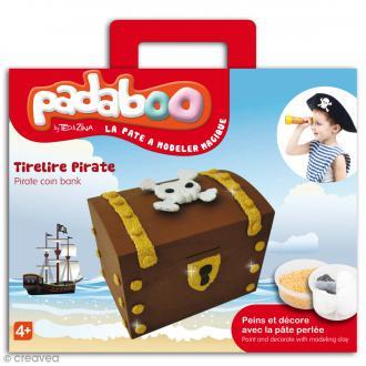 Kit de pâte à modeler Padaboo - Tirelire Pirate