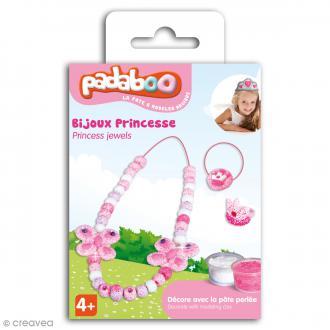 Kit de pâte à modeler Padaboo - Bijoux Princesse