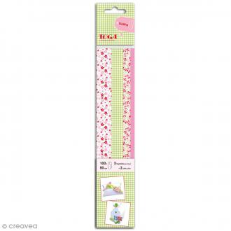 Bandes de papier quilling - Mademoiselle - 4 tailles -100 pcs