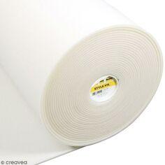 Vlieseline Style molletonné Au mesure Vil Entoilage sur mètre Blanc 7w4RR6