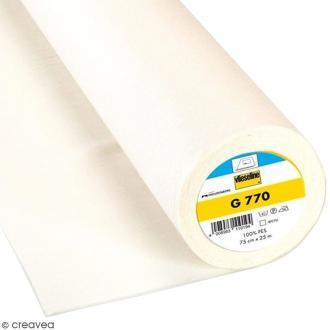 Entoilage Vlieseline - G770 Blanc écru - Au mètre (sur mesure)
