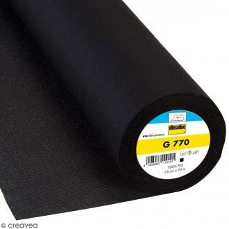 Entoilage Vlieseline - G770 Noir - Au mètre (sur mesure)