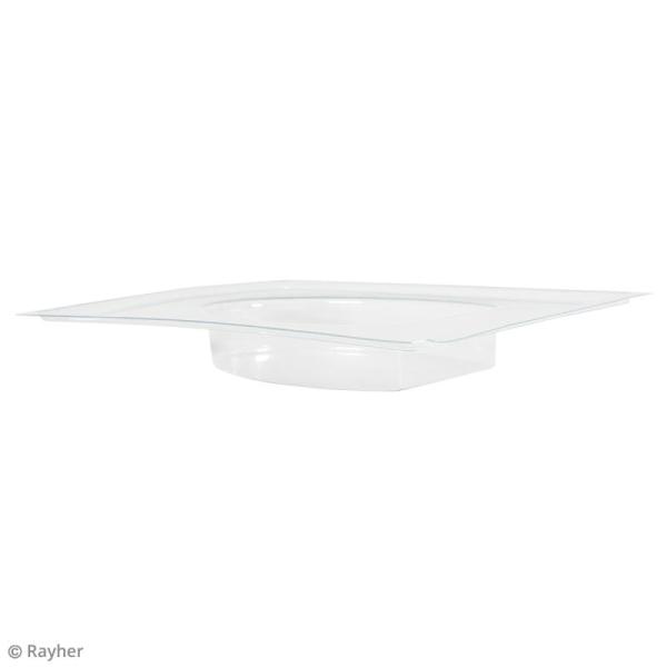 Plaque avec moule pour béton - Oeuf - 8 x 10,5 cm - Photo n°4