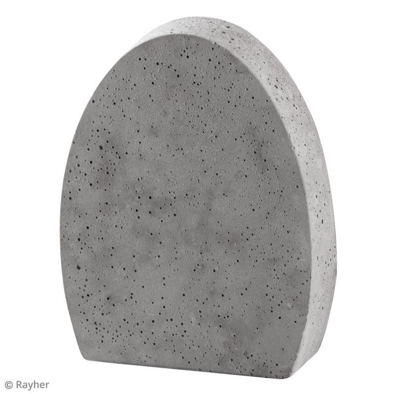 moule pour b ton cr atif oeuf 11 x 14 cm moule d co pour b ton cr atif creavea. Black Bedroom Furniture Sets. Home Design Ideas