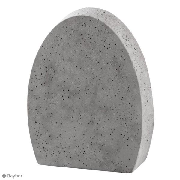 Moule pour béton créatif - Oeuf - 11 X 14 cm - Photo n°2
