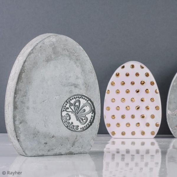 Moule pour béton créatif - Oeuf - 11 X 14 cm - Photo n°6
