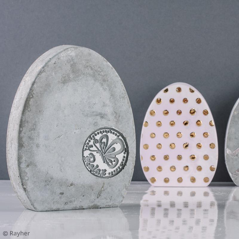 Moule pour béton créatif - Oeuf - 14 x 17,5 cm - Photo n°6