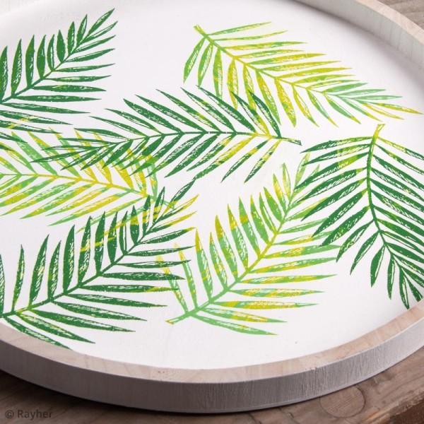 Pochoir adhésif pour sérigraphie - Feuille de palmier - A5 - Photo n°2