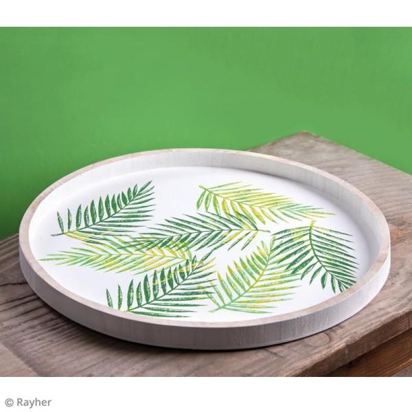 Pochoir adhésif pour sérigraphie - Feuille de palmier - A5 - Photo n°3