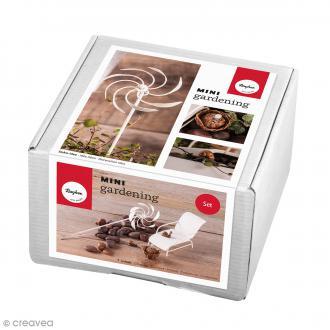 Kit jardin miniature - Relax - 6 éléments