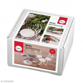 Kit jardin miniature - Rêves - 9 éléments