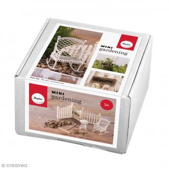 Kit jardin miniature - Eté - 8 éléments