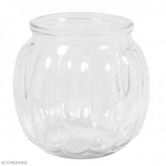 Vase en verre - Bombé - 12 x 12 x 11 cm